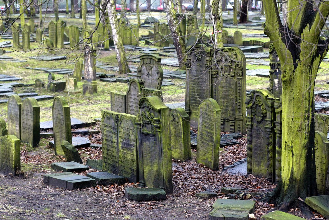 Friedhof In Hamburg